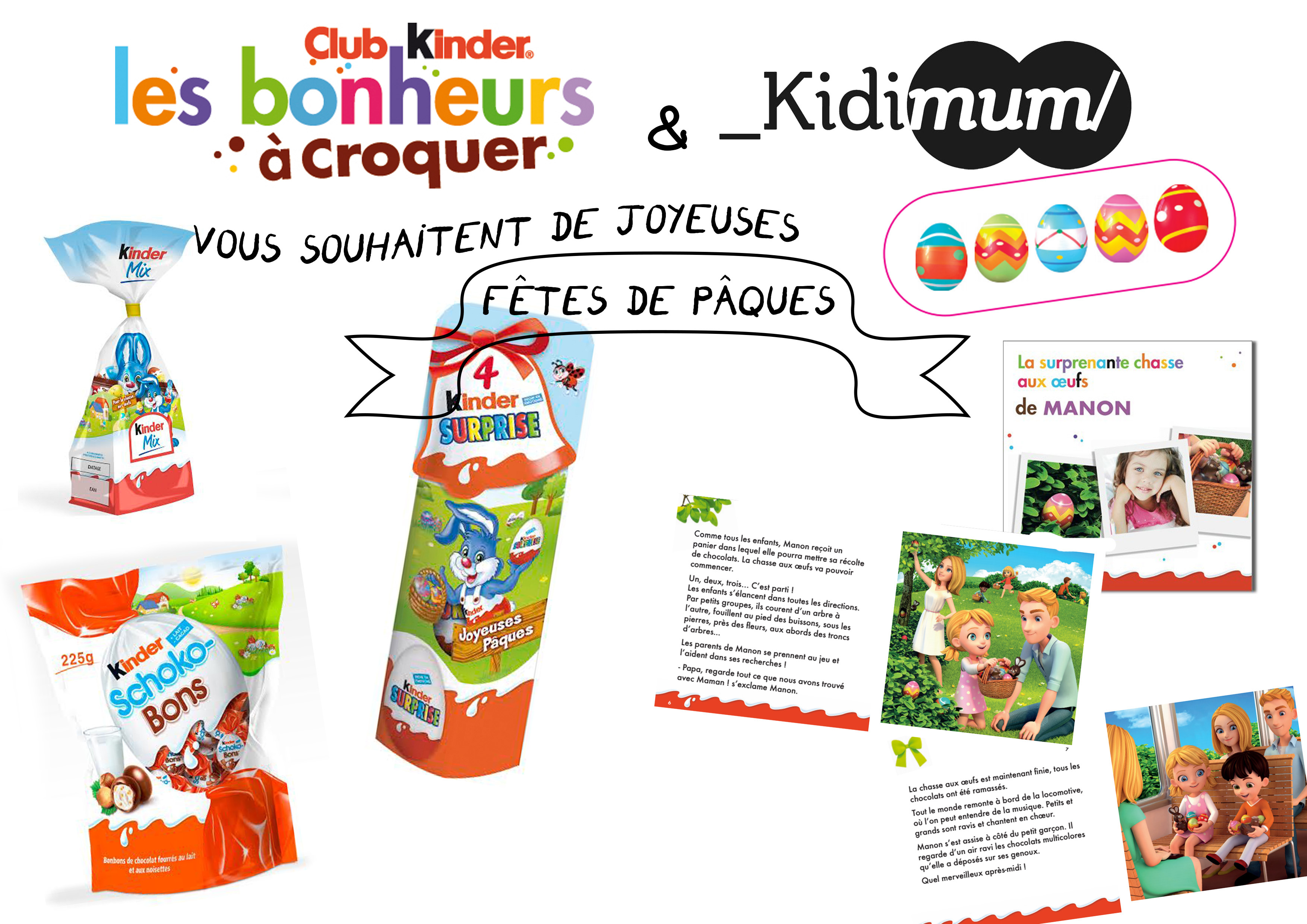 concours kinder 3