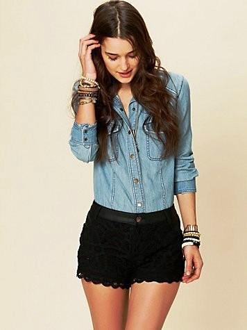 moda-Shorts-de-Renda-Verão-2015
