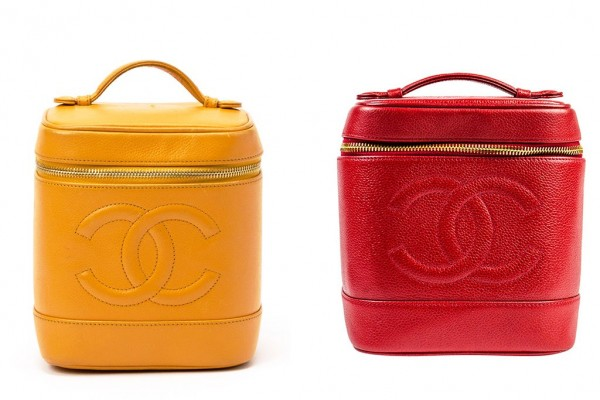 Chanel-Vanity-Case-Yellow-and-Red-Bag