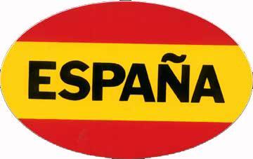 Drapeau-Espagne--Autocollant
