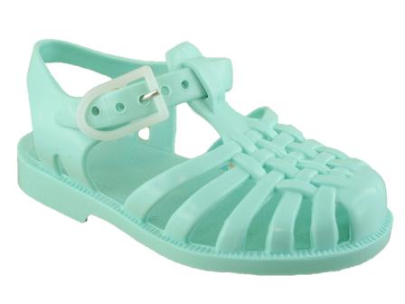 sandale-plage-bebe-vert-eau-meduse-z