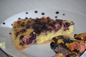 Kidirecette : Gâteau aux mûres sauvages du Canal du Midi (glutenfree)